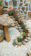 Simple rock garden decor ideas for your backyard 06