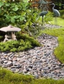 Simple rock garden decor ideas for your backyard 09