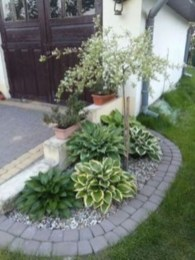 Simple rock garden decor ideas for your backyard 11