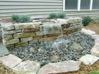 Simple rock garden decor ideas for your backyard 13