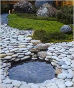 Simple rock garden decor ideas for your backyard 15