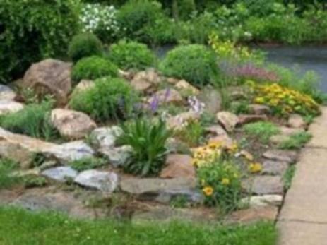 Simple rock garden decor ideas for your backyard 27
