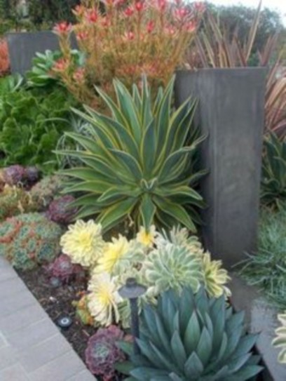 Simple rock garden decor ideas for your backyard 35