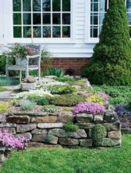 Simple rock garden decor ideas for your backyard 42