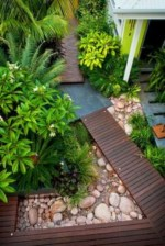 Simple rock garden decor ideas for your backyard 43