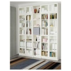 Smart and unusual book's storage ideas for book lovers 07