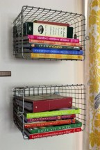 Smart and unusual book's storage ideas for book lovers 17