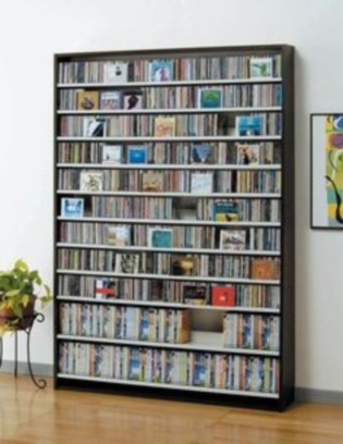 Smart and unusual book's storage ideas for book lovers 18