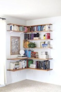 Smart and unusual book's storage ideas for book lovers 32