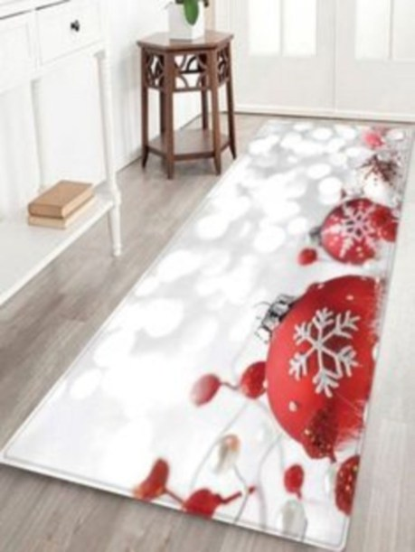 Ways to decorate your home with snowflakes and baubles 06
