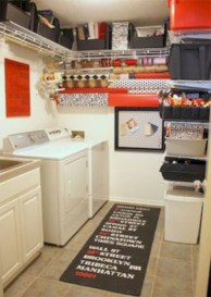 Beautiful and functional small laundry room design ideas 03