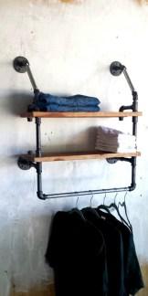 Built-in bathroom shelf and storage ideas to keep your bathroom organized 10