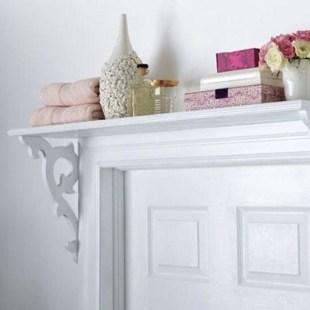 Built-in bathroom shelf and storage ideas to keep your bathroom organized 32