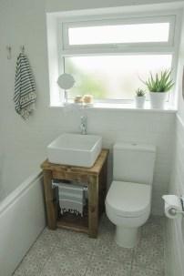 Built-in bathroom shelf and storage ideas to keep your bathroom organized 48