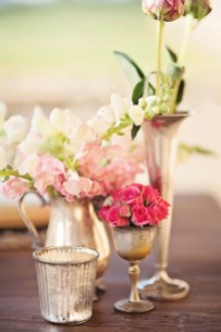 Charming rustic centerpieces that will fill up your tables 26