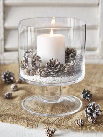 Charming rustic centerpieces that will fill up your tables 32