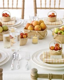 Charming rustic centerpieces that will fill up your tables 34