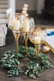 Charming rustic centerpieces that will fill up your tables 43