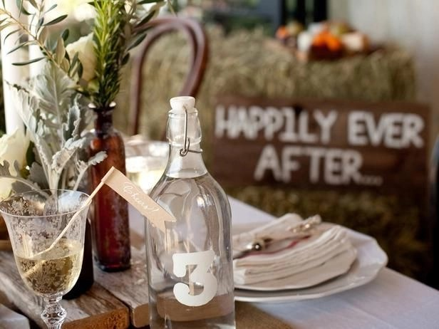 Charming rustic centerpieces that will fill up your tables 57