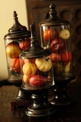 Charming rustic centerpieces that will fill up your tables 58