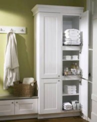 Hanging bathroom storage ideas to maximize your small bathroom space 29