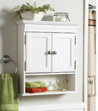 Hanging bathroom storage ideas to maximize your small bathroom space 36