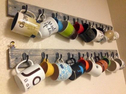 On a budget diy coffee mug holders you can easily make 20