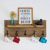 On a budget diy coffee mug holders you can easily make 28