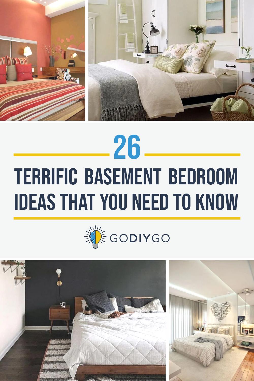 26 Terrific Basement Bedroom Ideas That You Need To Know Godiygo Com