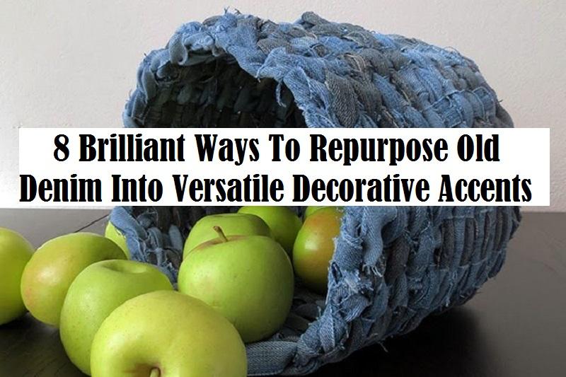 8 brilliant ways to repurpose old denim into versatile decorative accents