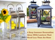8 easy summer decoration with lantern that need less than an hour