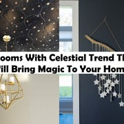 8 rooms with celestial trend that will bring magic to your home