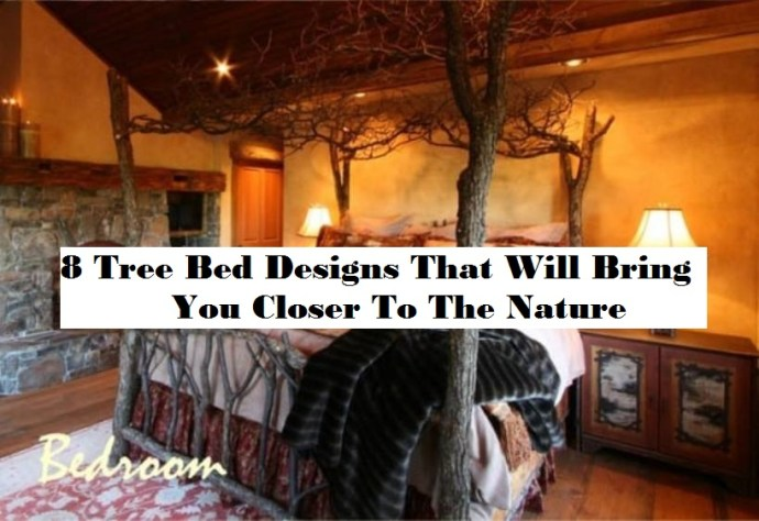 8 tree bed designs that will bring you closer to the nature