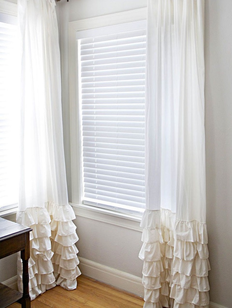 Create Ruffled Curtains