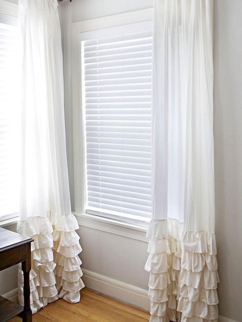 Create Ruffled Curtains