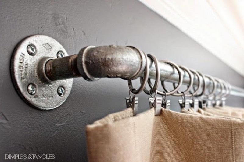 Rustic Curtain Rod