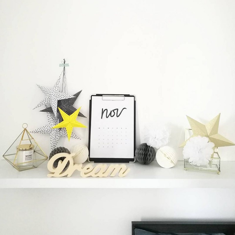 Stars For Shelf Decor