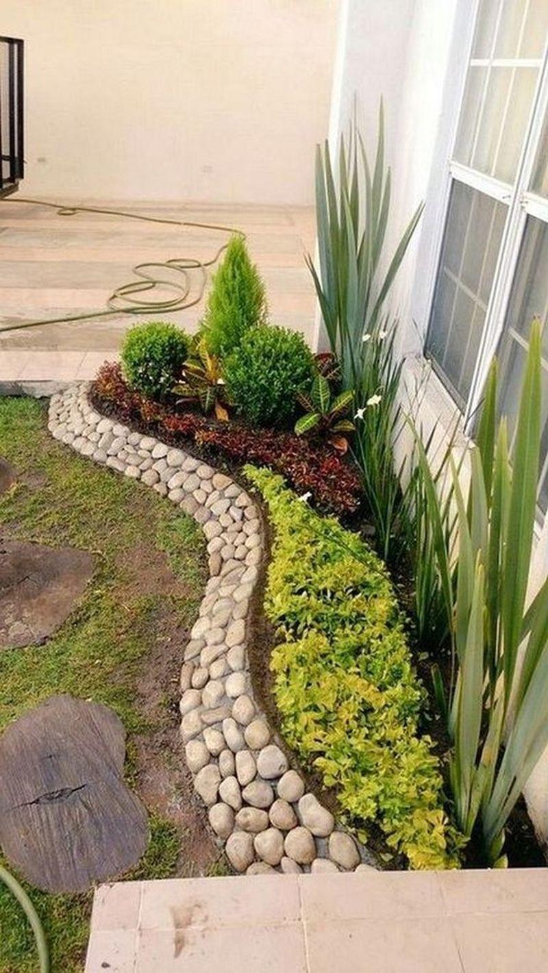 25 Beautiful Front Yard Rock Garden Landscaping Design Ideas Godiygo Com