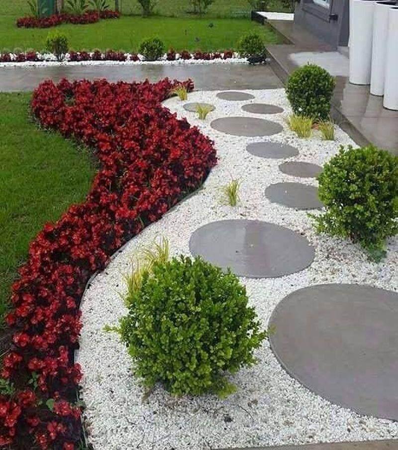 Rock Garden Front Yard Landscaping Ideas: 25 Beautiful Front Yard Rock Garden Landscaping Design