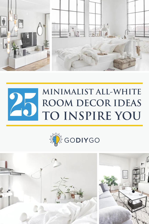 25 Minimalist All White Room Decor Ideas To Inspire You Godiygo Com