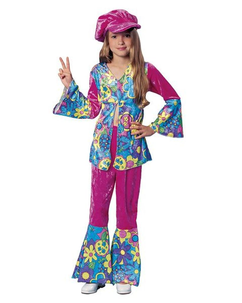 30 Cool Diy Hippie Costume For Your Kids To Look Unique And