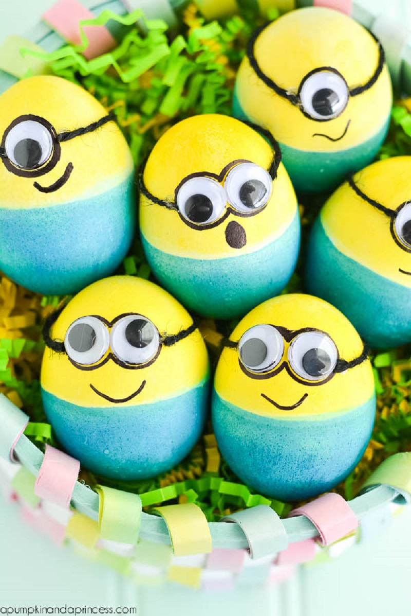 Wonderful DIY Easter Egg With Minion Theme That Is Easy And Cheap