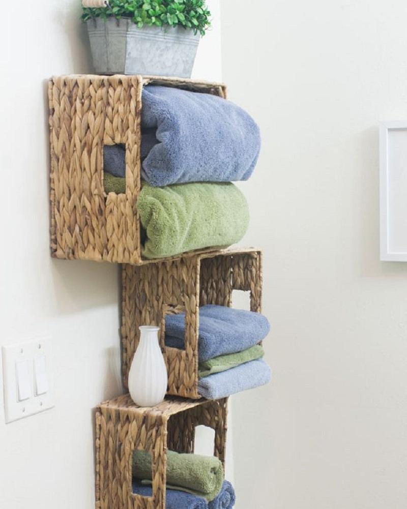 Affordable linen closet