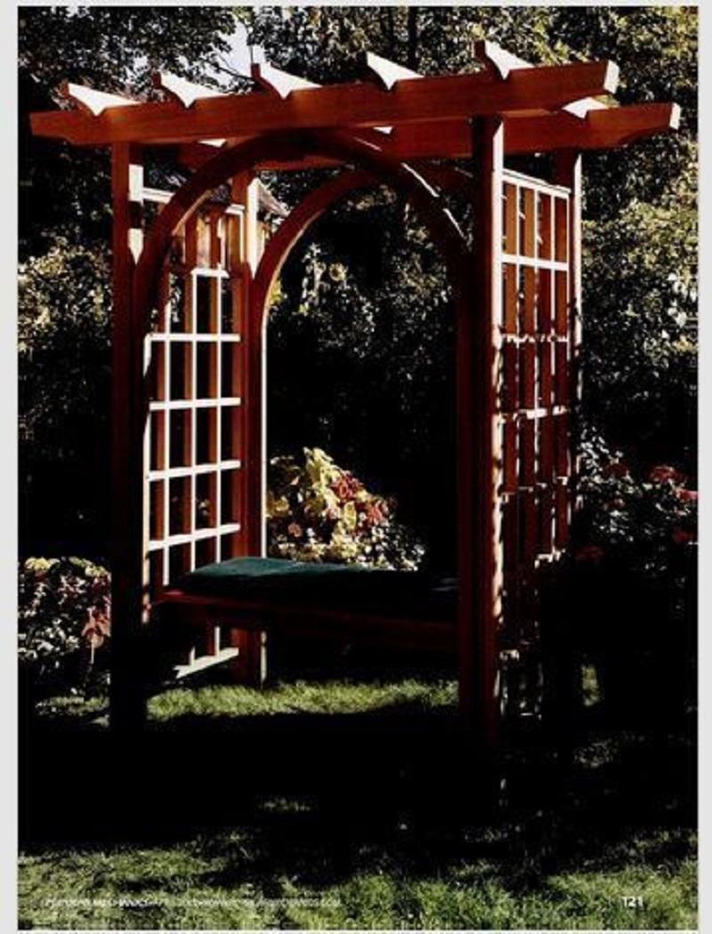 Bench garden arch DIY Garden Plans Arch Ideas To Create Beautiful Welcoming Frame