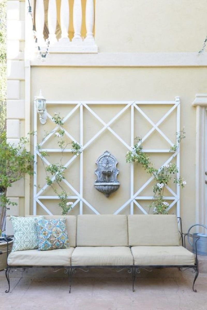 Diy crisscross wall trellis Functional DIY Trellis Ideas To Beautify Your Garden In Style