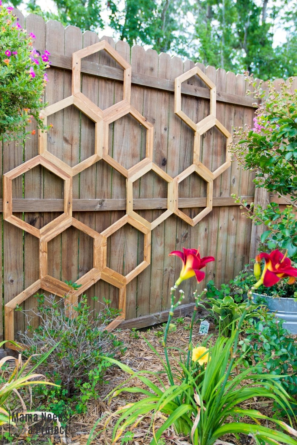 Diy honeycomb trellis Functional DIY Trellis Ideas To Beautify Your Garden In Style