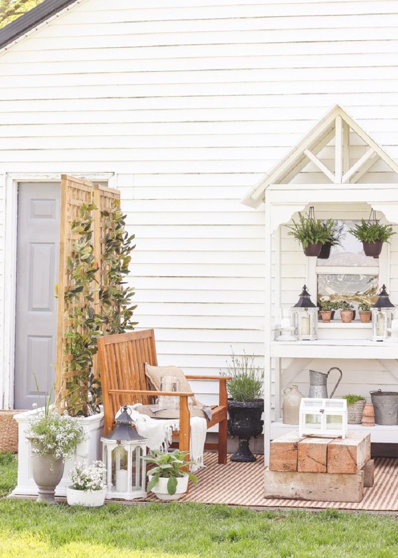 Diy trellis planter Functional DIY Trellis Ideas To Beautify Your Garden In Style
