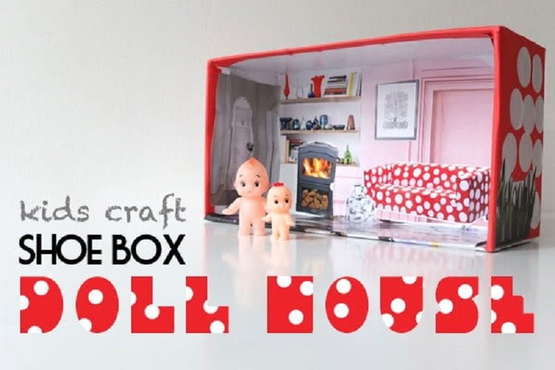 Lovely doll house