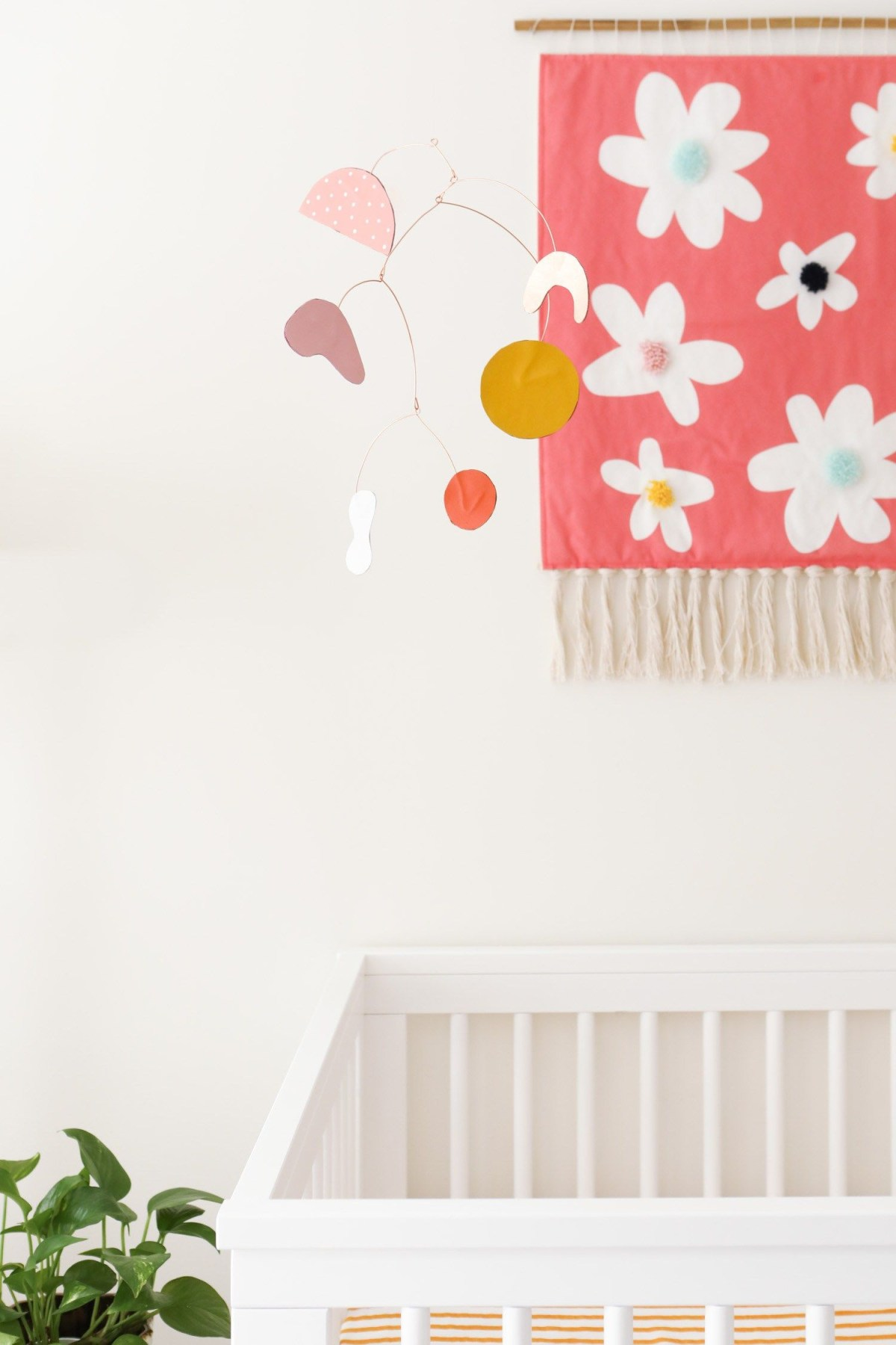 Modern leather mobile DIY Wonderful Baby Mobile Ideas That Sweet For Any Nursery Style