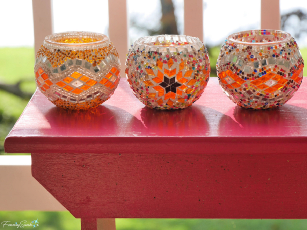 Turkish mosaic candle holders Most-Wanted Mosaic Projects Where Any One Want To Try At Home
